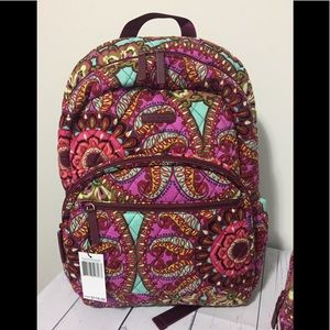 Vera Bradley Laptop Backpack - NEW
